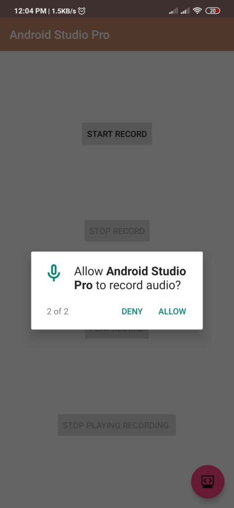 audio recorder android source code